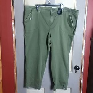 NWT Torrid Military Crop Jeans